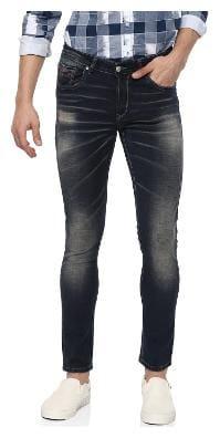 Spykar Men Low rise Super skinny fit Jeans - Blue