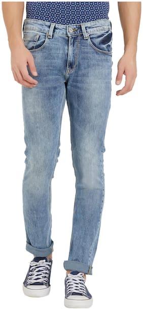 Spykar Men Low rise Straight fit Jeans - Blue