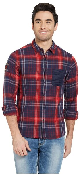 Spykar Men Regular Fit Casual shirt - Multi