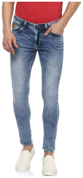 Men Slim Fit Low Rise Jeans