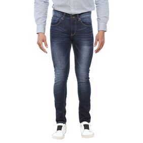 Spykar Mens Blue Super Skinny Fit Jeans