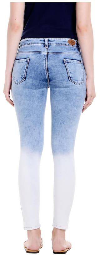 Fit Actif Low Blue Skinny Super Rise Fit Spykar Womens Jeans Mid z4pqx6vC