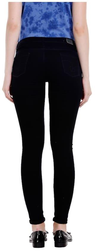 Giselle Black Jegging Spykar Jeans Fit Low Fit Womens Rise EwZFnqFR0