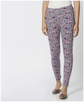 Cotton Printed Leggings