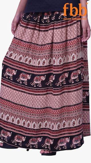 Colour s Skirt Women Printed Multi Srishti yhSlwlh