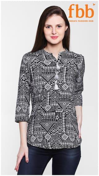 Srishti Printed Women's Black Tunic