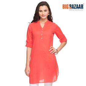 Srishti Solid Women's Shirt Kurta