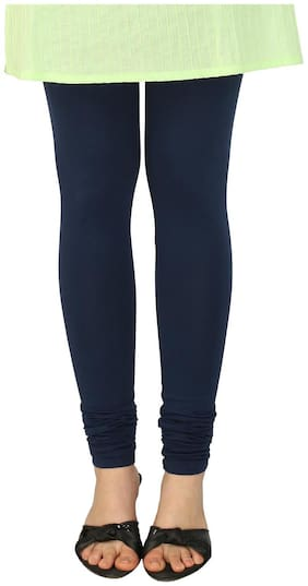 Srishti Cotton Leggings - Blue