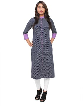 Sritika Women Multi Printed Straight Kurta