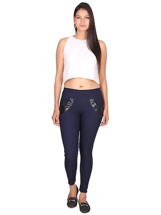 LYCRA JEGGING SRITIKA SRITIKA COTTON SOLID COTTON SOLID xw1SXRnq
