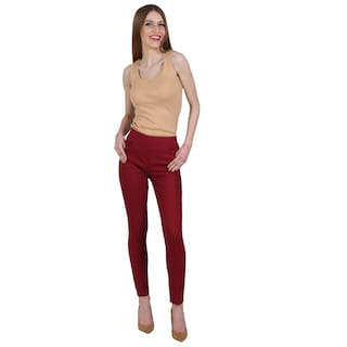 SRITIKA SOLID COTTON LYCRA JEGGING