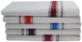 SRT Cotton Solid Regular dhoti Dhoti - White
