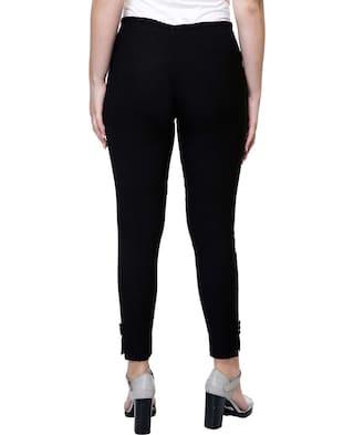Black Blend Stanvee Pants Straight Cotton Paint lycra twE7PEq