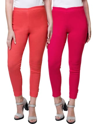 Stanvee Women Solid Regular Fit Pant Palazzo Pack Of 2