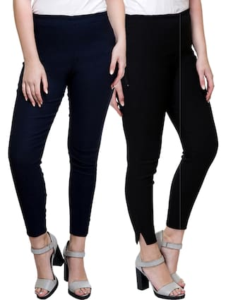 Pant Pack Stanvee Solid Fit 2 Of Palazzo Regular Women Iqq6YOz