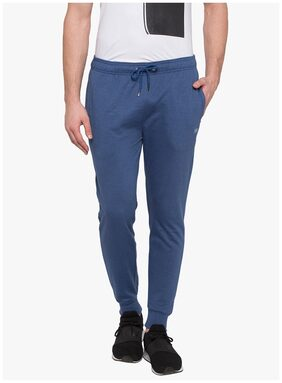 Status Quo Men Knitted Track Pants - Blue