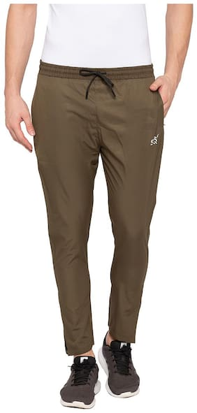 Slim Fit Polyester Track Pants Pack Of 1