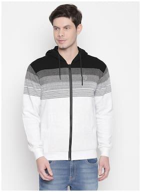Men Striped Sweatshirt