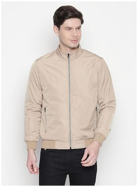 Men Cotton Long Sleeves Quilted Jacket