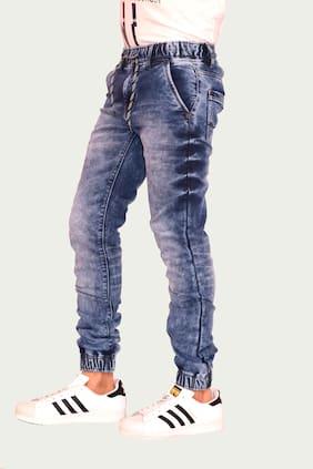 Stefan Hafner Blue Jogger Jeans