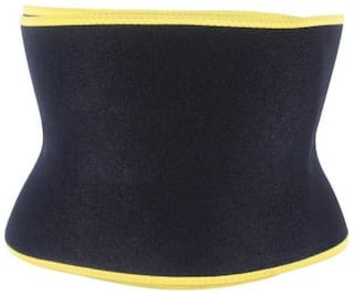 Strechable Unisex hot shaper Sexy Sweat (XXL) Slimming Belt (Black) Slimming Belt (1Pc) Multi Color