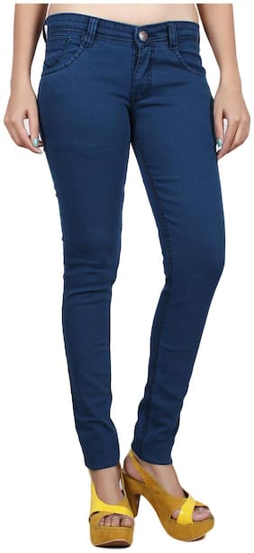 Studio Nexx Women's Blue Slim Jeans