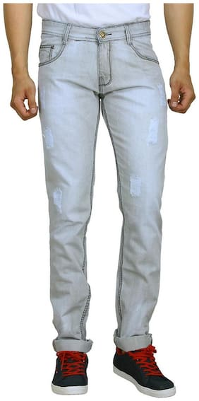 Studio Nexx Men's Distressed Slim Jeans