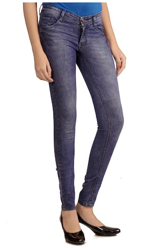 Studio Nexx Jeans Blue Cotton Women's XqXRrw1B