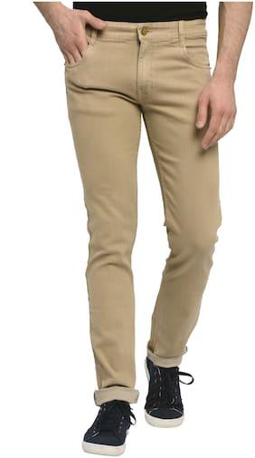 Men Regular Fit Mid Rise Jeans Pack Of 1