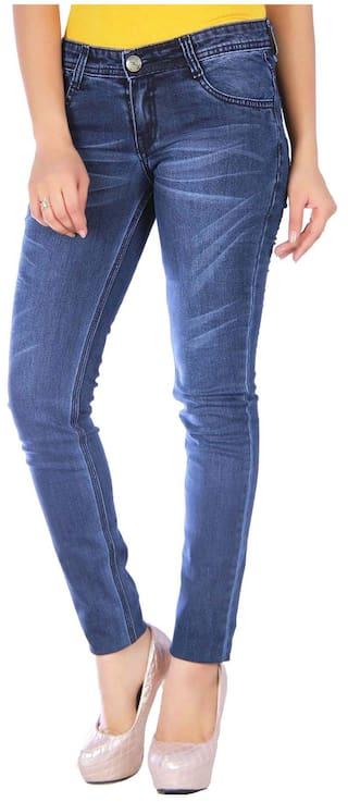 Studio Nexx Women's Blue Slim Fit Jeans