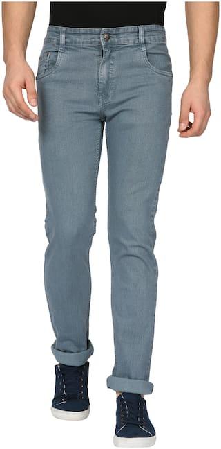 Studio Nexx Men Grey Regular Fit Jeans