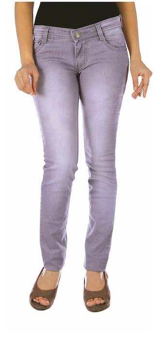 Studio Nexx Women's Grey Slim Fit Jeans