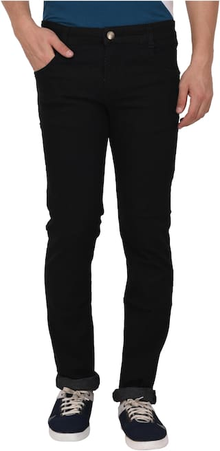 Studio Nexx Men Black Regular Fit Jeans