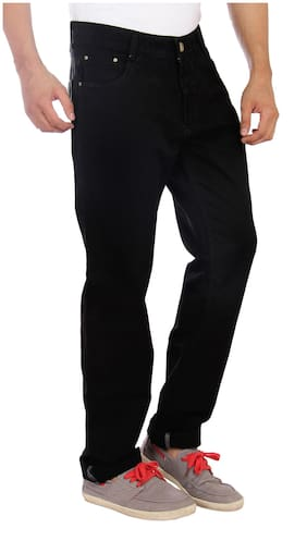 Studio Nexx Men Mid rise Regular fit Jeans - Black