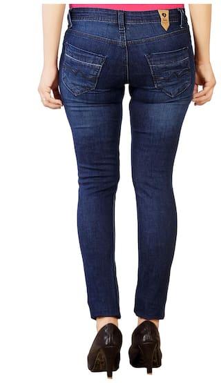 Studio Cotton Jeans Dark Women's Blue Nexx 6qP6ZW1n