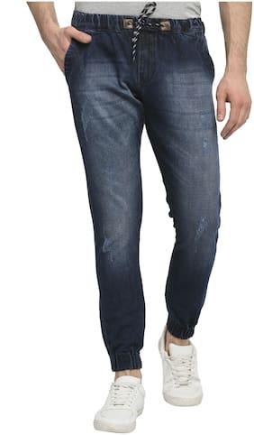 Men Jogger Mid Rise Jeans