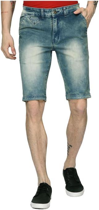 Studio Nexx Men Blue Slim Fit Regular Shorts