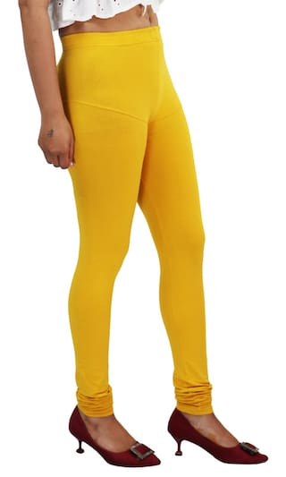 Style Access Women Full Length Solid Leggings