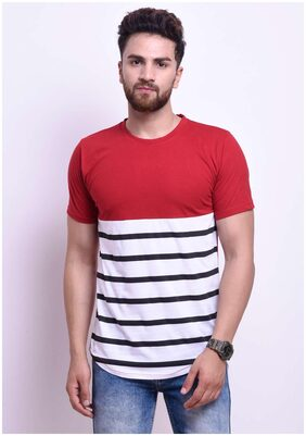 STYLESMYTH Men Regular Fit Round Neck Printed T-Shirt - Multi
