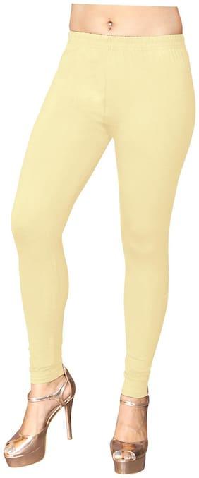 Styllaz Cotton Leggings - Beige
