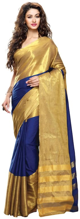 Sunaina Multicolor Cotton Saree