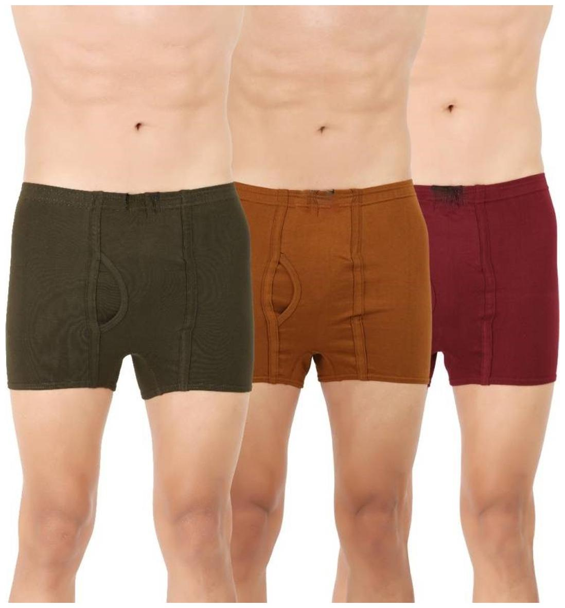 Super Trunks For Men Pack Of 3 by Clever Creations