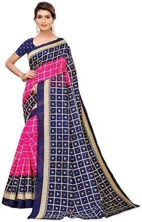 Artificial Silk Bandhani Saree