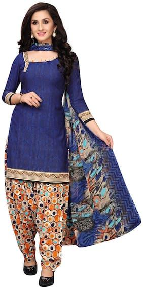 Kurta with Bottom & Dupatta Dress Material