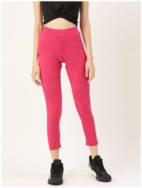 Sweet Dreams Women's Polyester  Pyjama Pack of 1  (LP-3927ST_Pink_S)