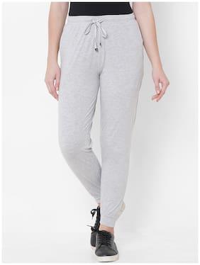 Sweet Dreams Women's Cotton  Pyjama Pack of 1  (LP-3030GT_Grey_M)