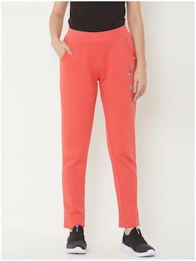 Sweet Dreams Women's Fleece  Pyjama Pack of 1  (LP-3704GT_Pink_L)