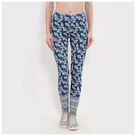 Sweet Dreams Women's Cotton  Pyjama Pack of 1  (LP-336978_Blue_S)