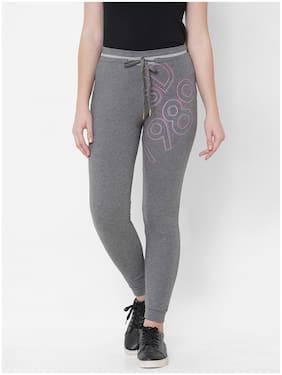 Sweet Dreams Women's Cotton  Pyjama Pack of 1  (LP-3034GT_Grey_L)