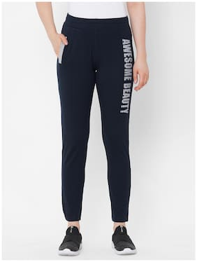 SWEET DREAMS Women's Polyester Solid Pyjama Pack of 1  (LP-3921GT_Grey_XL)